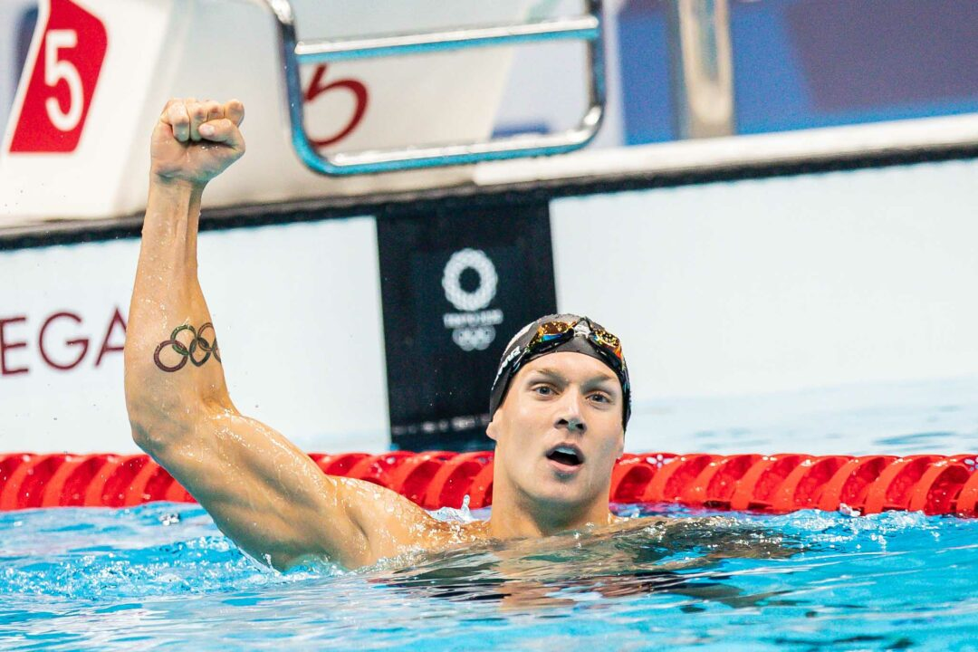 Caeleb Dressel Breaks 50 Freestyle Olympic Record, Wins 4th Gold Medal