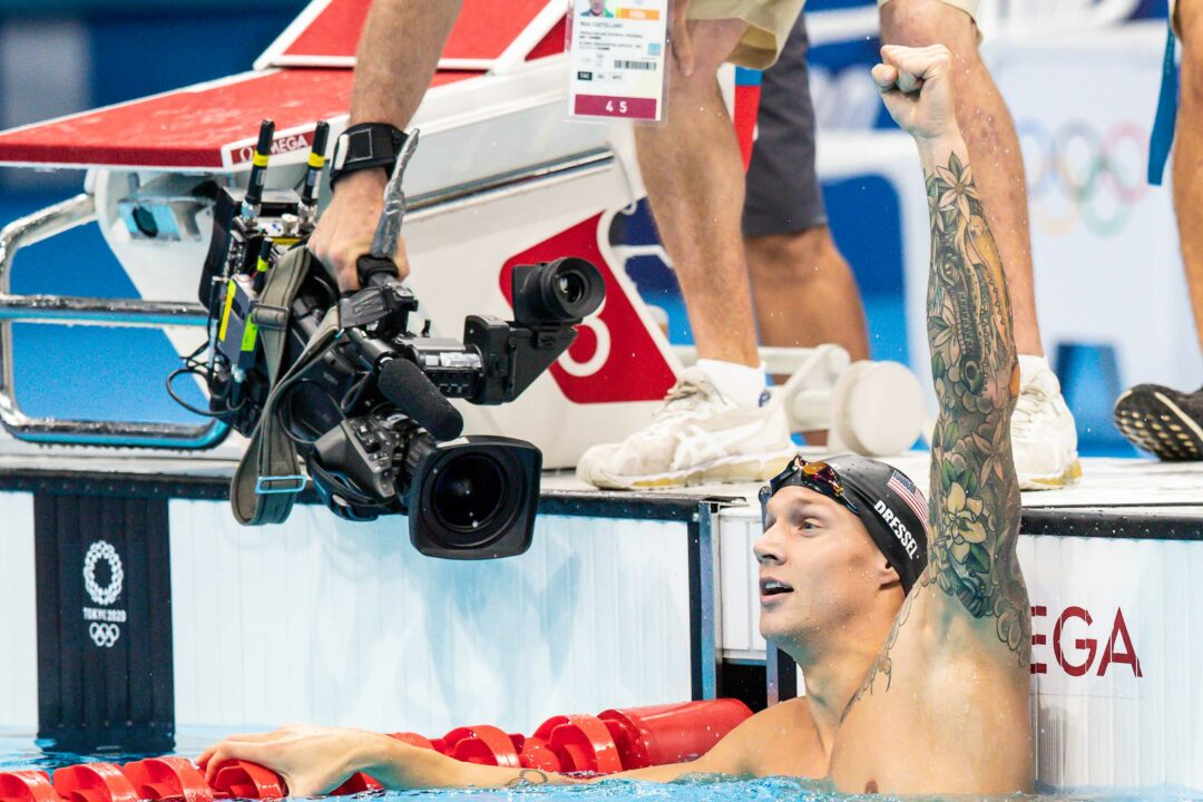 The Five Best Swimming Stats From The Tokyo 2020 Olympic Games
