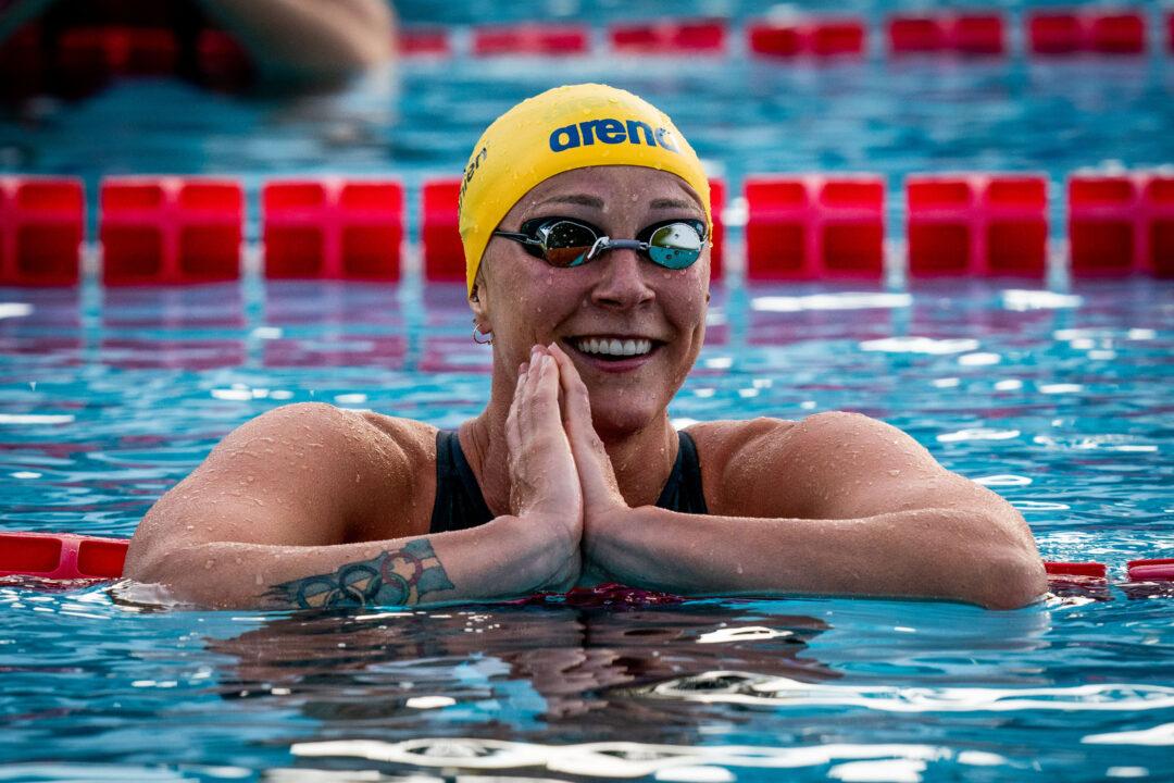Sarah Sjostrom Nuota Il Suo Miglior Tempo Dal 2017 Nei 100 Farfalla