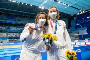Ledecky, Sullivan Top Podium in First Olympic Women's 1500 Freestyle