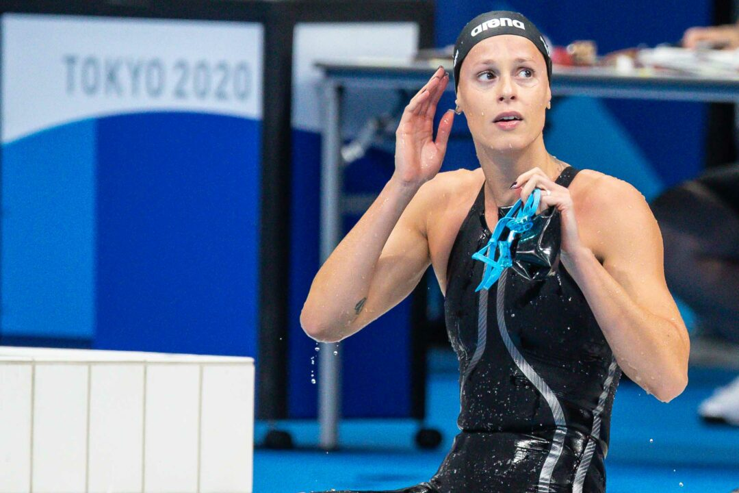 Pellegrini Makes History Entering 5th Consecutive 200 Free Olympic Final