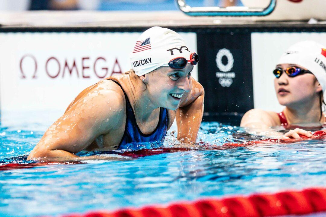 1500-Katie Ledecky Primo Record Olimpico Della Storia-Simona In Finale
