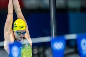 Kaylee McKeown Wins Australian Women's 1st 100 Back Gold in OLY Record Fashion