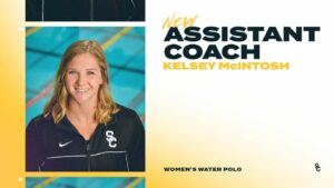 All-American & NCAA Champ Kelsey McIntosh Joins USC Water Polo Coaching Staff