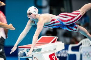 WATCH: Michael Andrew, Lilly King, US W 800 FR Relay Win Olympic Prelims Heats