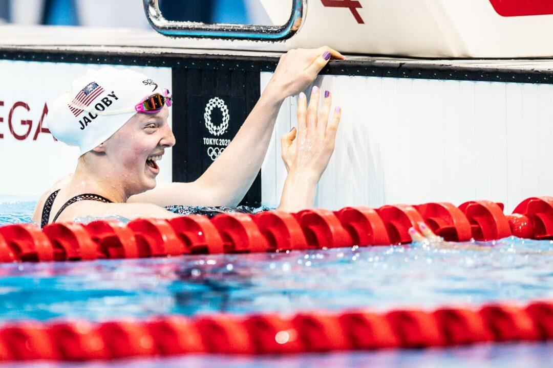 La Nuova Regina Olimpica Dei 100 Rana E' La 17Enne Lydia Jacoby