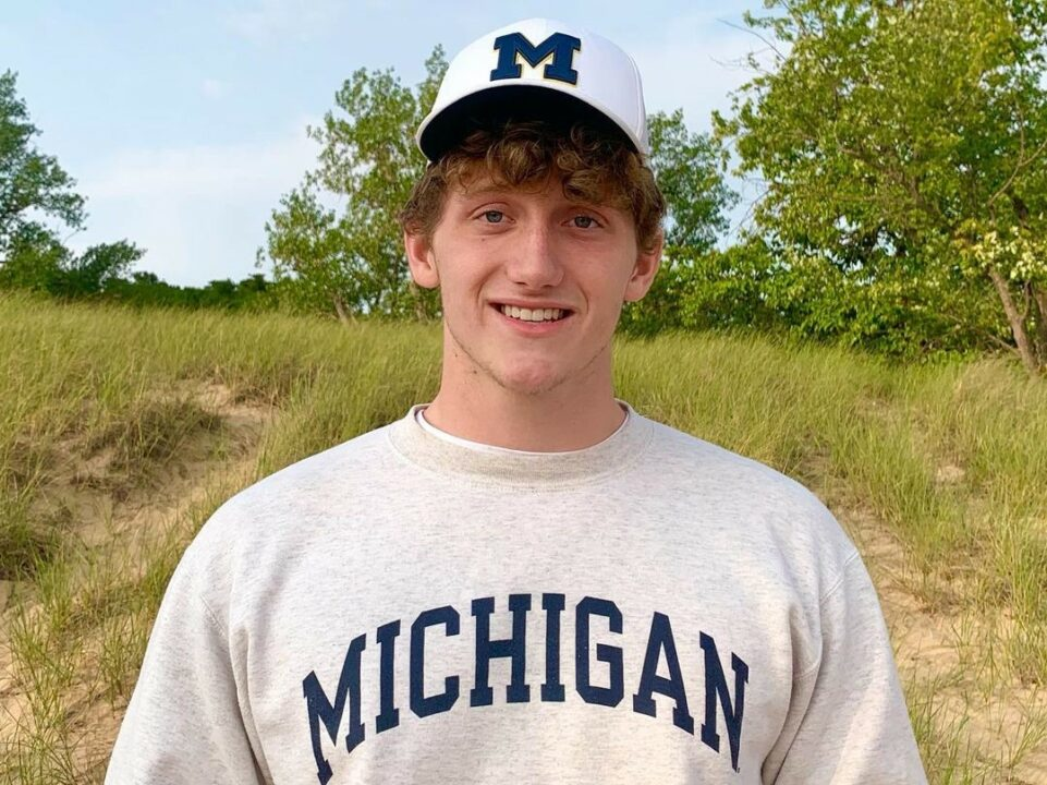 Michigan HS Division 1 State Champion Kevin Maas Verbals to In-state Wolverines