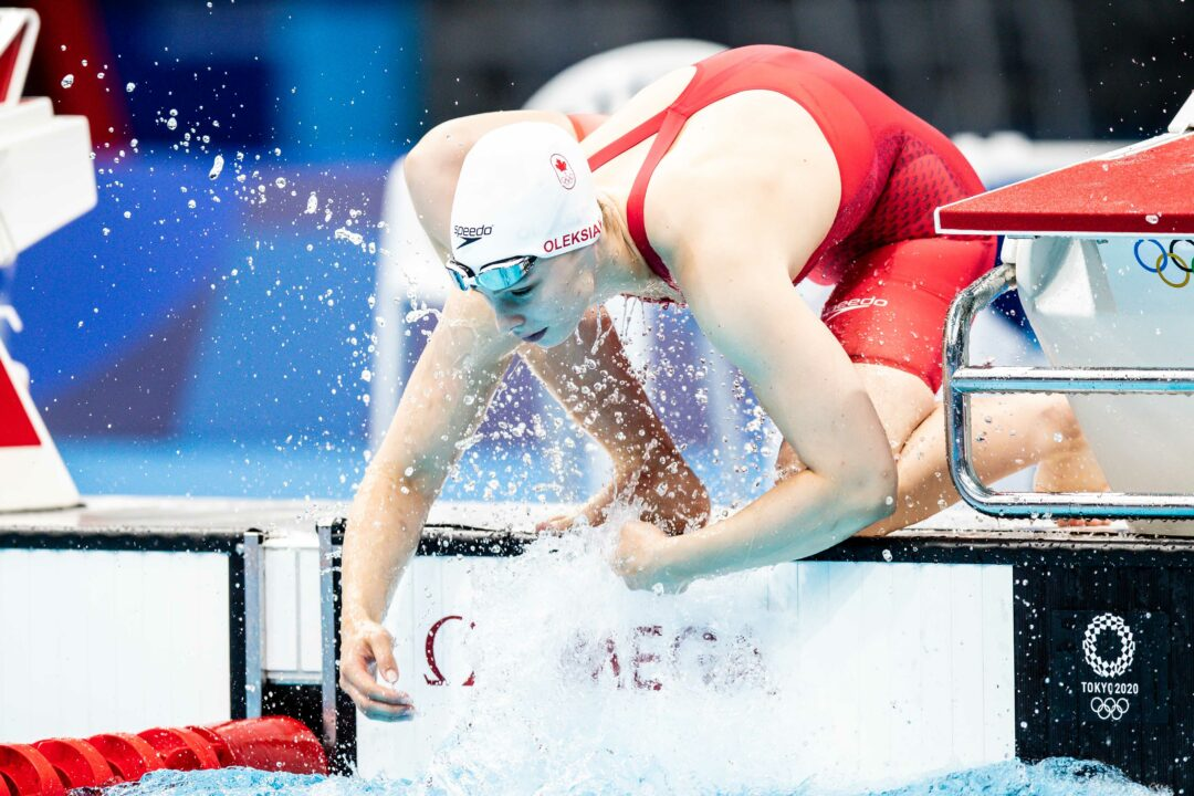 Canadian Women Post 7:43.77 4×200 Freestyle NR, 11th Fastest All-Time