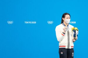 Siobhan Haughey Hits Third Straight Asian 100 Free Record, Wins Olympic Silver