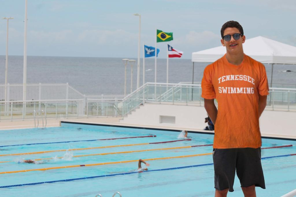 Brazilian Junior National Champion Guilherme Caribé (2022) Verbals to Tennessee