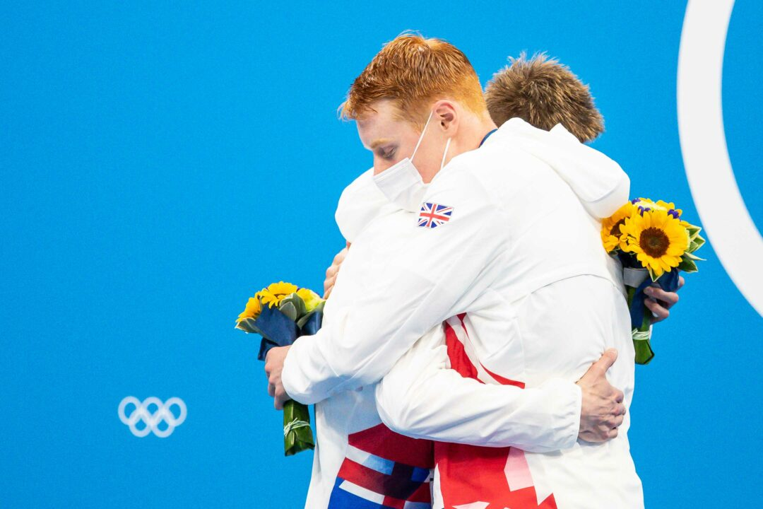 Tokyo Relay Splits: GBR Dominates Men's 4×200 Free with 3 of the 6 Fastest Legs