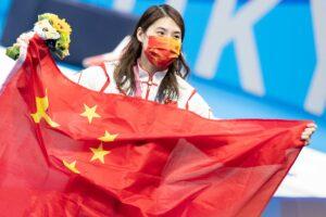 Zhang Yufei gana el 200 mariposa con 2:03.86, récord olímpico y 3ª histórica