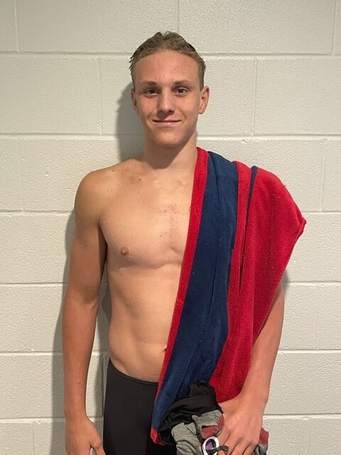 Maximus Williamson Breaks 13-14 National Age Group Record in 200 Free