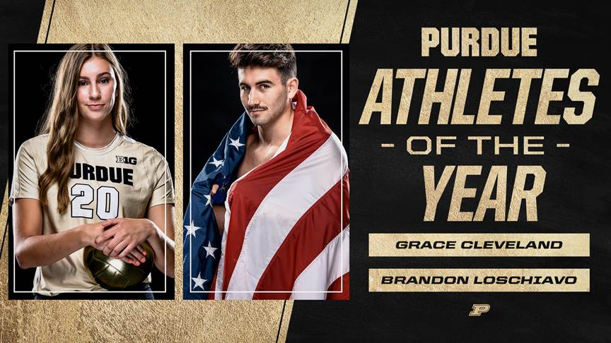 NCAA Diving Champion Brandon Loschiavo Named Purdue's Male Athlete of the Year