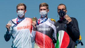 Florian Wellbrock siegt im olympischen 10 km Freiwasserrennen in Tokio