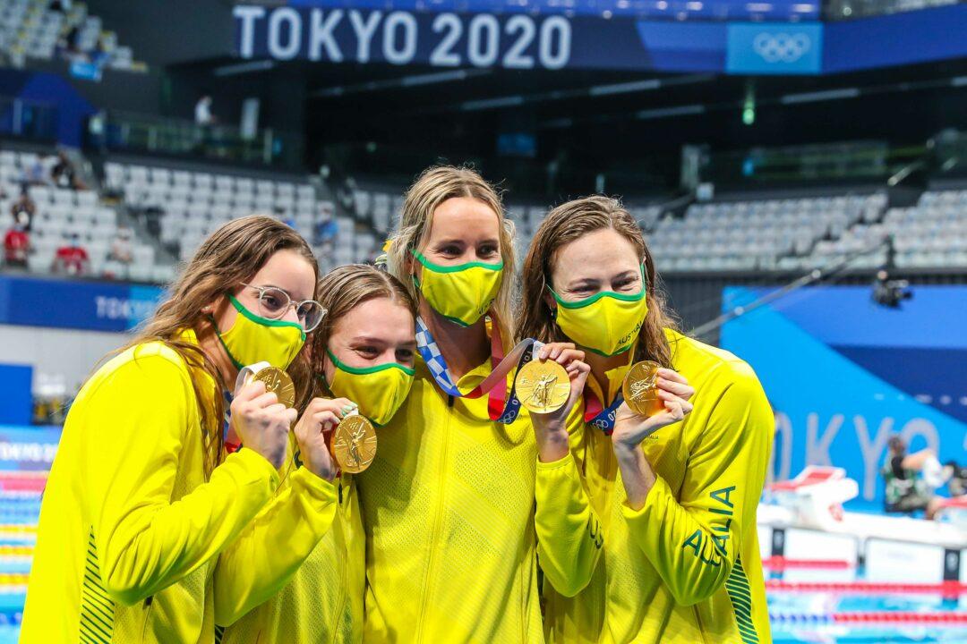Retiring Australian Olympians Will Not Receive Tokyo Podium Bonus