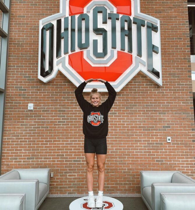 Ohio State Adds Breaststroker Olena Sadovska to Class of 2026