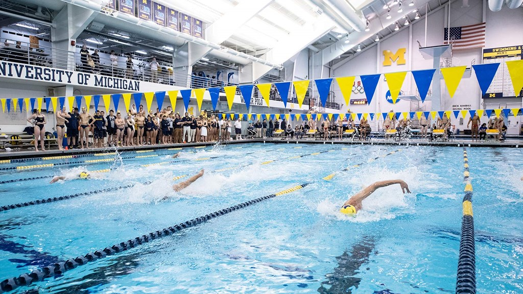 College Swimming Previews: #12 Michigan Men Aiming to Build On B1G Title