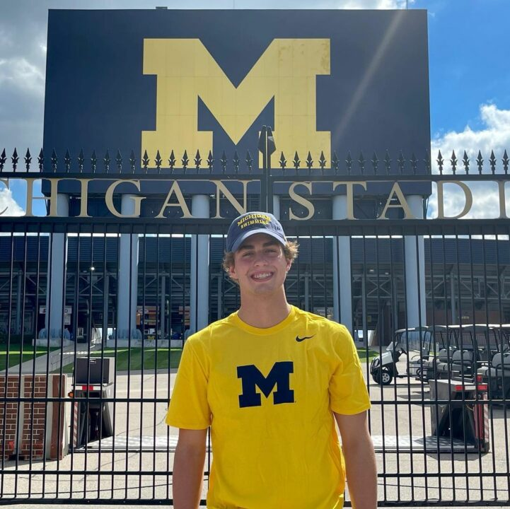 Ethan Schwab Becomes First 2023 Swimmer to Announce Verbal Commitment