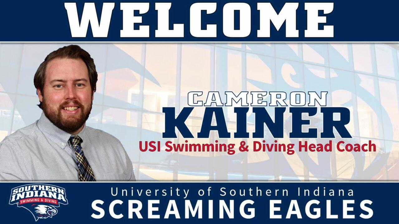USI Tabs Cameron Kainer As Inaugural Swimming & Diving Head Coach
