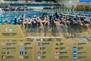 Georgia Tech Swim & Dive Announces 2021-22 Schedule