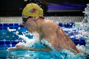 Finlay Knox Lowers Canadian Record in the 100 IM for 2nd Time in 2 Weeks