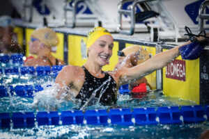 """Madi Wilson """"On The Mend"""" After COVID Positive, Plans To Race FINA World Cup"""