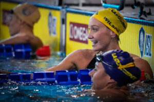 Madi Wilson Out Of Hospital, Back In The Pool Following Negative COVID-19 Test