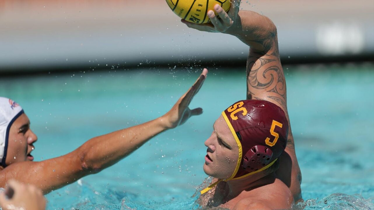 No. 1 USC Men's Water Polo Skips Town For Action At Aggie Roundup