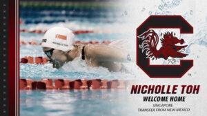 South Carolina Picks Up New Mexico Transfer Nicholle Toh