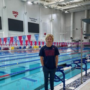 Backstroker Christian Bouchillon (2022) Commits to Southern Methodist