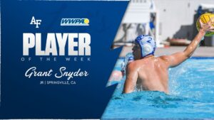 Air Force's Grant Snyder Named WWPA Player of the Week