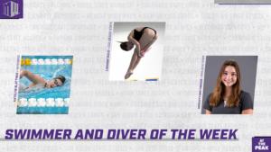Blattner, Gizzi & Smithbaker Earn Weekly Mountain West Swim & Dive Honors